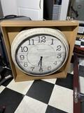 Baldauf large sized clock new in box