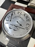 Made in England Float Plan Co Large Clock