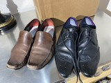 2 pairs of men's shoes by Tom of London