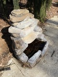 Composite or Plastic outdoor electric fountain unuti