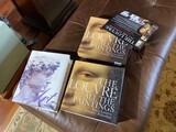 2 books on art including Louvre in slip cover