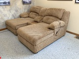 Ashley Furniture Sofa with Massage and Heat Features