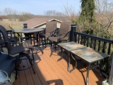 Patio Table with 4 Chairs and 2 Side Tables