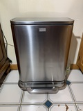 Simplehuman Stainless Steel Trash Can with Bags