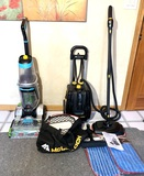 McCulloch Deluxe Canister Steam System & Bissell Pet Pro Carpet Scrubber
