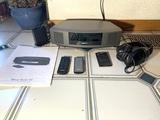 Bose Wave Radio III, Bose Headphones & Bose Wave Bluetooth Music Adapter