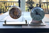 Pottery Barn Clock and Linden Clock