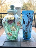 Beautiful Art Glass and Painted Fioriware Glass Pieces