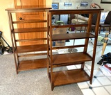 2 Collapsible Bookcases