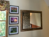 1 Mirror and 3 Pieces of Artwork