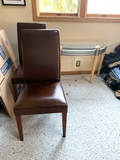 2 Pottery Barn Chairs and Entryway Table