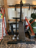 Soloflex Exercise Machine with Dumbbells