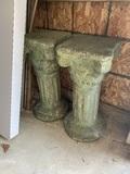 Cement Pedestals