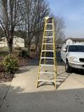Werner 10 Foot Fiberglass Ladder