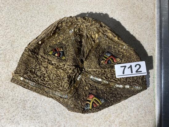Rare Unusual 1920s Flapper Hat Cloche