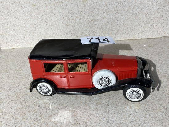Vintage Made in Japan Friction Toy Car
