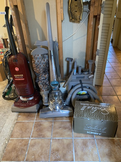 Kirby Sentria Vacuum with Accessories and Hoover Vacuum