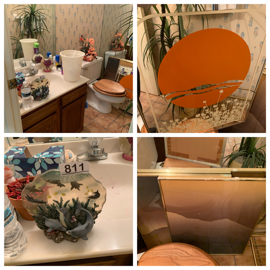 Clean Out Bathroom - Framed Art and Decorative Items