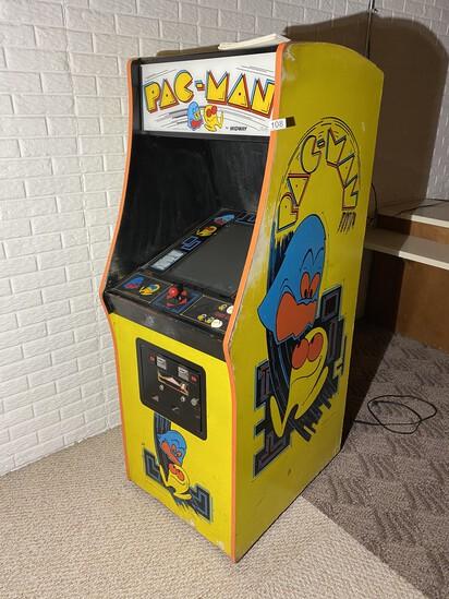 Vintage Midway Pac-Man Arcade Game