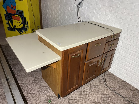 Cabinet or Bar unit with countertop