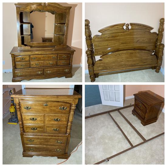 Vintage bedroom set