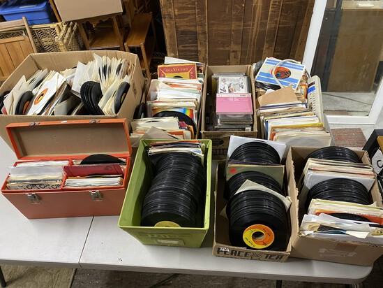 Huge record collection, Sea Kayak, misc. vintage