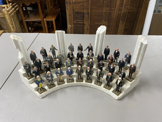 Presidents of the US display