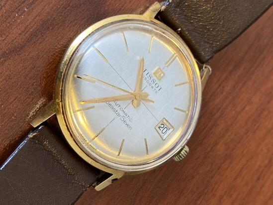 Vintage Tissot Visodate Automatic Seastar Seven Watch