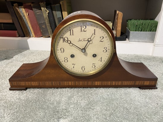 Seth Thomas wind up Mantle Clock with Chime