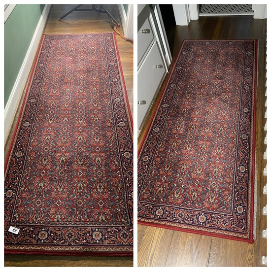 Two nice long hall rugs
