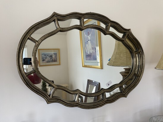 Large sized decorative mirror