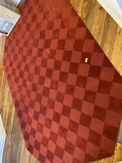 Large decorative rug
