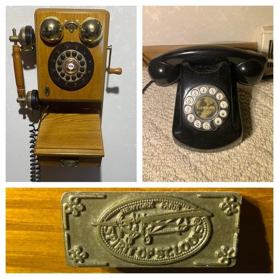 Pair of Vintage Style Phones