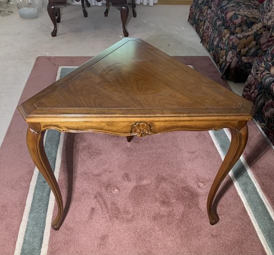 Rhone Furniture Corner Side Table
