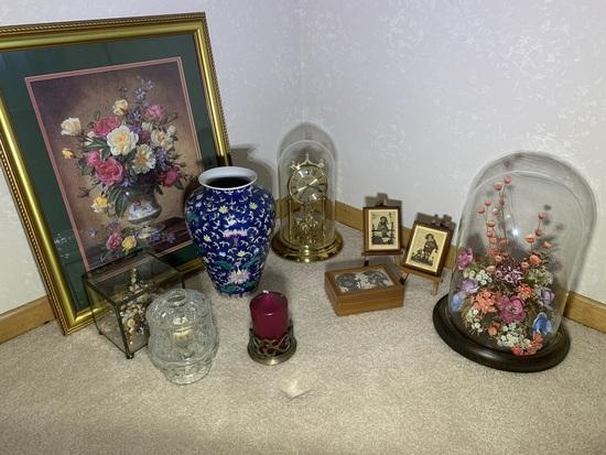 Assortment of Decorative Items