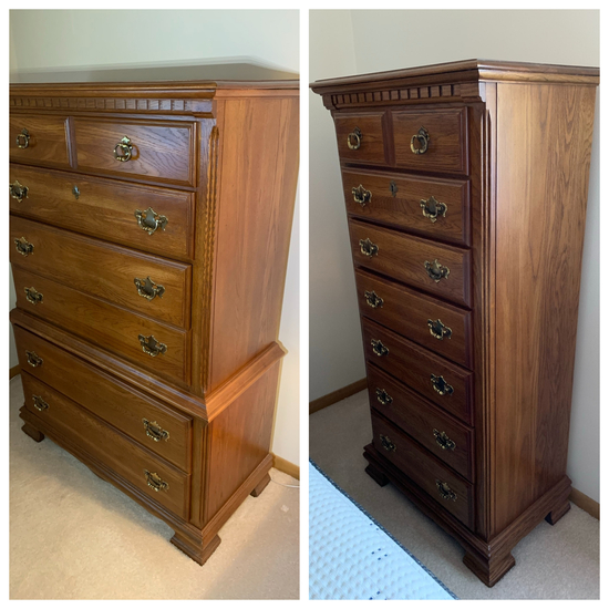 Hunter's Run Kincaid by La-z-boy Chest of Drawers and Lingerie Chest