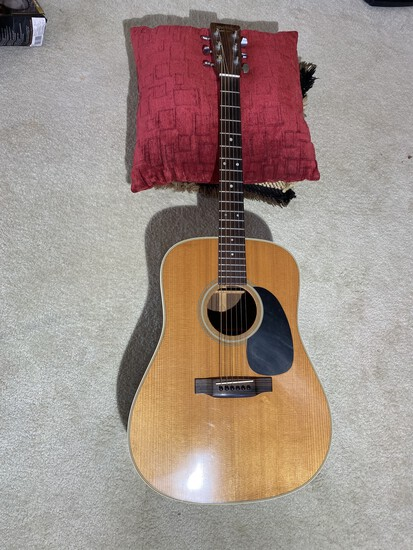 Vintage Martin Made in USA Acoustic Guitar