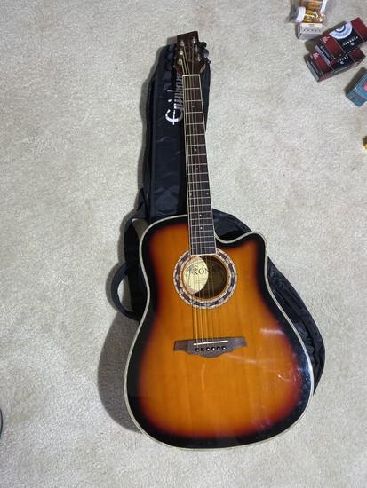 Vintage Acoustic Guitar by Kona