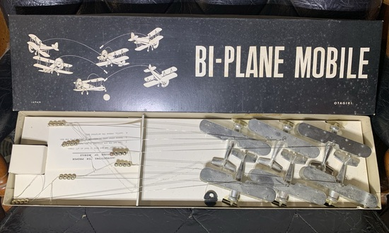 Vintage Biplane Mobile 16/99