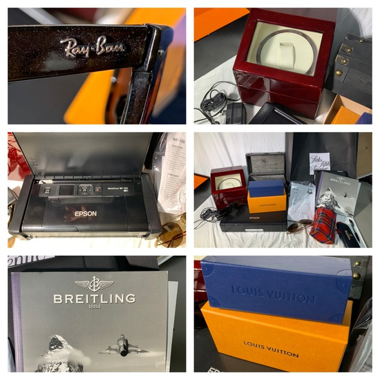 Breitling Book, Epson Printer, Brookstone Watch Case, and More