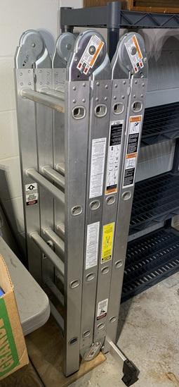 Werner Aluminum Ladder M1-8-16