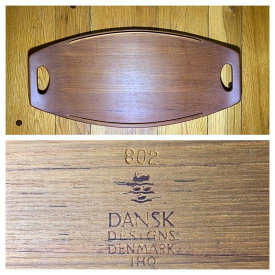 Mid-century Tray Raymond Loewy for Dansk Designs Denmark.