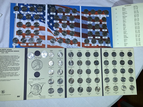 Commemorative Quarters of the United States Collector's Albums