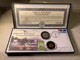 Certificate of Authenticity WWII 60th Anniversary Commemorative Edition / Limited Edition Coins