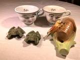 Baileys Collector Glasses, Thread Holder & Ceramic