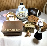 First Aid, Gremlin, E.T. Longaberger & More