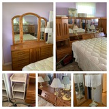 Queen Headboard, Dresser, Chest of Drawers & More