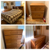 Orman Grubb Co. Furniture - Bed Frame, Dresser, Chest of Drawers, & Night Stand