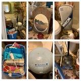 Bathroom Clean Out - Oreck, Fans, Shelf, Decorative Items & More