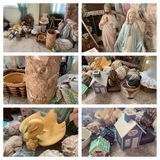 Great Group of Decorative Items.  See Photos